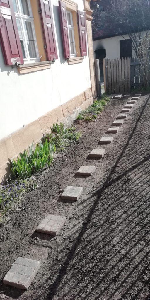 Neugestaltung des Vorgartens